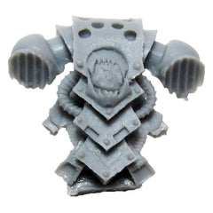Warhammer 40K Forgeworld World Eater Kharn The Bloody Back Pack Bits