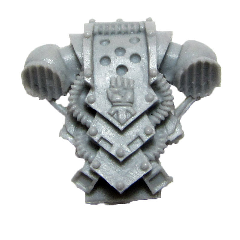 Warhammer 40K Forgeworld Imperial Fists Command Squad Back Pack A