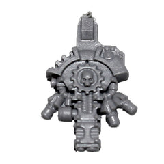 Warhammer 40K Forgeworld Mechanicum Secutarii Peltasts Back Pack A