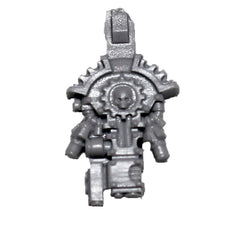 Warhammer 40K Forgeworld Mechanicum Secutarii Peltasts Back Pack D