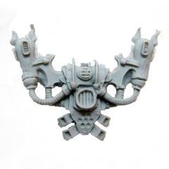 Warhammer 40K Chaos Space Noise Marine Emperors Children Back Pack Finecast Bits