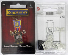 Warhammer Fantasy Battle Warhammer World Only Josef Bugman Dwarf Banner Bearer