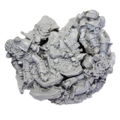 Warhammer 40K Space Marine Forgeworld Iron Hands Ferrus Manus Base