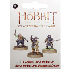 Warhammer World The Hobbit The Cousins Bifur Bofur Bombur Dwarf Event