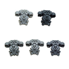 Warhammer 40K Space Marine Back Pack C x5 Bits