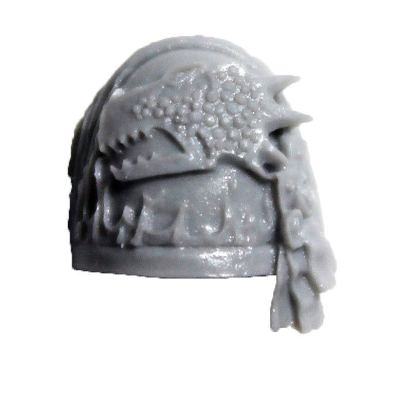 Warhammer 40K Forgeworld Salamanders Shoulder Pad Upgrade C