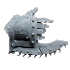 Warhammer 40K Forgeworld World Eater Red Butcher Chain Fist Right Bits