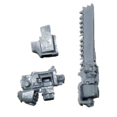 Warhammer 40K Space Marines Forgeworld MKIV Assault Chainsword  L Bolt Pistol R