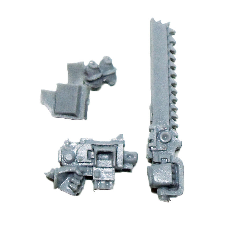 Warhammer 40K Space Marines Forgeworld MKIV Assault Chainsword Bolt Pistol Nade