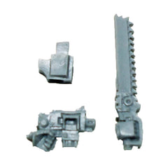 Warhammer 40K Space Marines Forgeworld MKIV Assault Chainsword R Bolt Pistol L