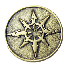 Warhammer 40k Games Workshop Warhammer World Chaos Pin Badge