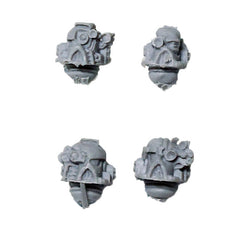 Warhammer 40K Space Marine Iron Hands Bionic Heads Bits