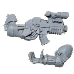 Warhammer 40K Space Marine Iron Hands Bionic Arms Bolter Bits Scoped