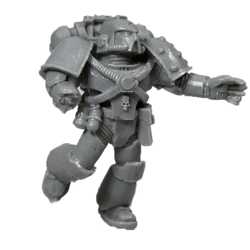 Warhammer 40K Chaos Marines World Eaters Angron Wounded Space Marine A