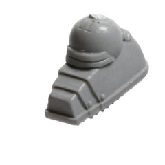 Warhammer 40K Forgeworld Space Marines Night Lords Contemptor Foot Left Flat