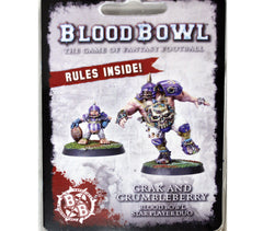 Forgeworld 2017 Warhammer World Blood Bowl Grak & Crumbleberry Event Only