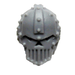 Warhammer 40K Space Marine Iron Warriors Iron Circle Domitar Head