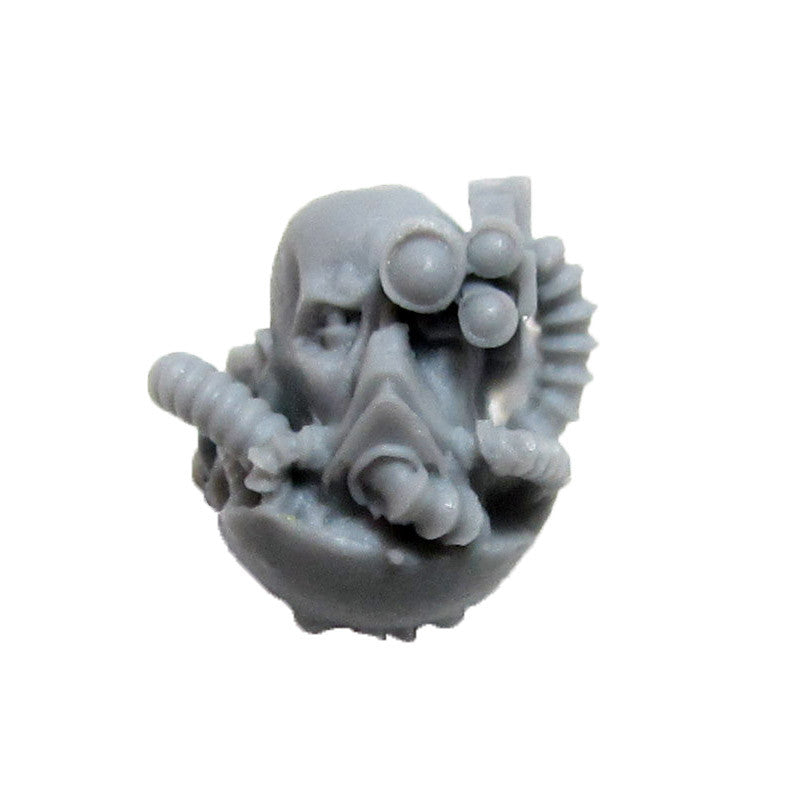 Warhammer 40K Space Marine Forgeworld Iron Hands Medusan Immortals Head