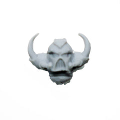Warhammer 40K Chaos Space Marine Iron Warriors Head Helmet A Finecast Bits