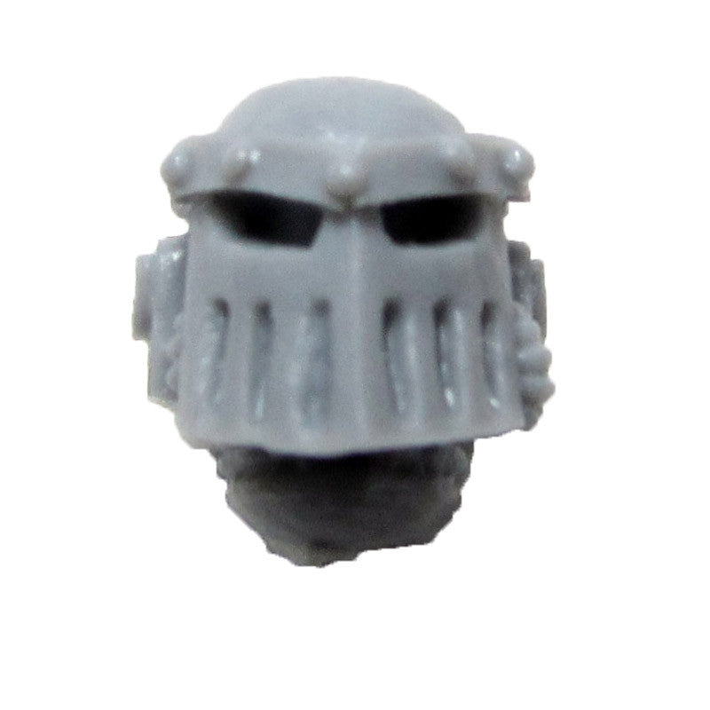Warhammer 40K Space Marine Forgeworld Iron Hands MKIII Head Helmet A Bits