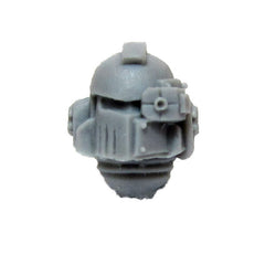 Warhammer 40K Chaos Space Marine Iron Warriors MKII Head Helmet A