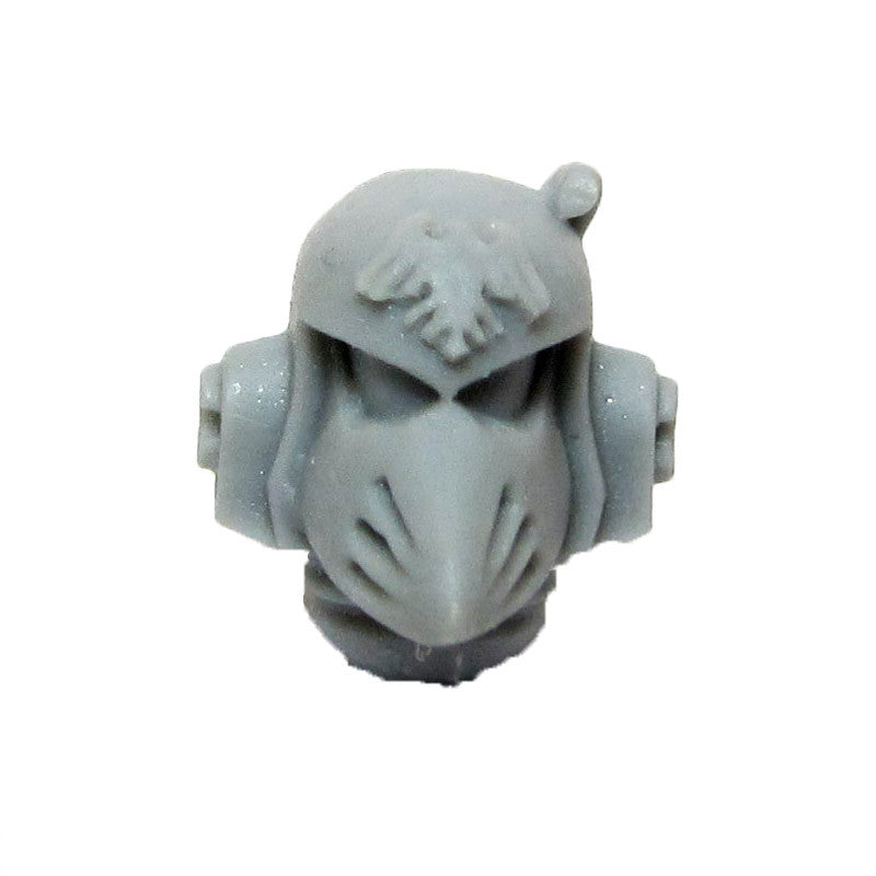 Warhammer 40k Forgeworld Space Marine Raven Guard Head Helmet Upgrade B MKVI
