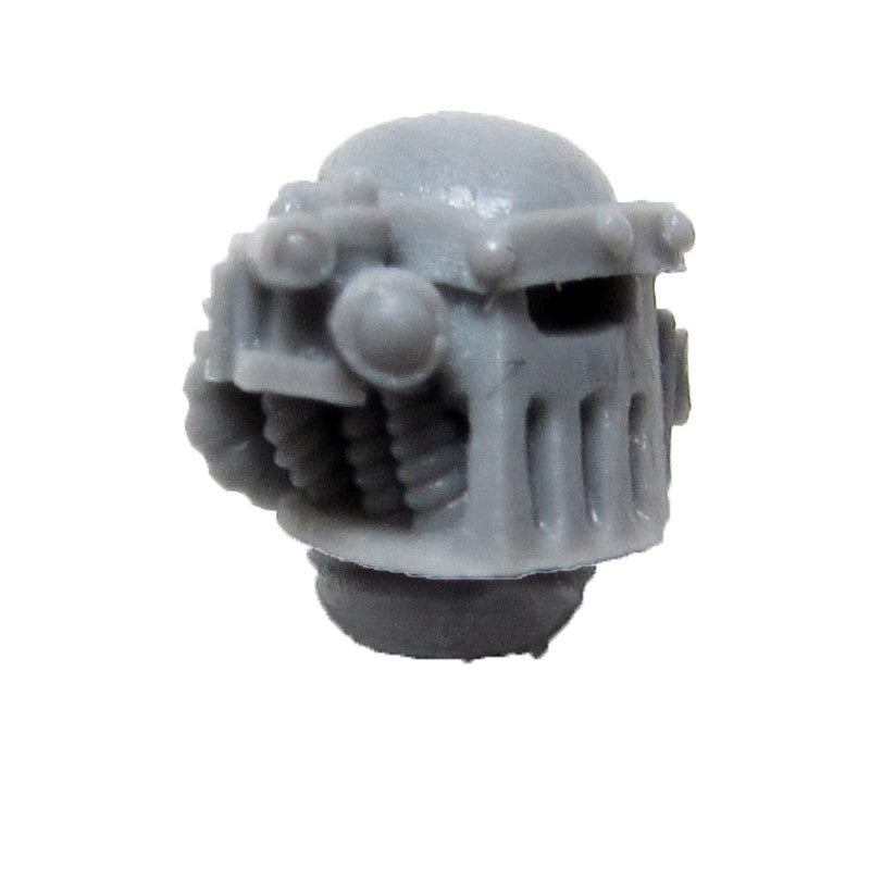Warhammer 40K Space Marine Forgeworld Iron Hands MKIII Head Helmet B Bits