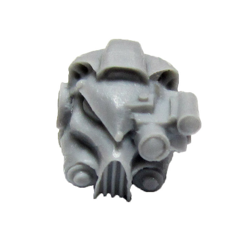 Warhammer 40K Space Marine Forgeworld Iron Hands Gorgon Terminator Head B