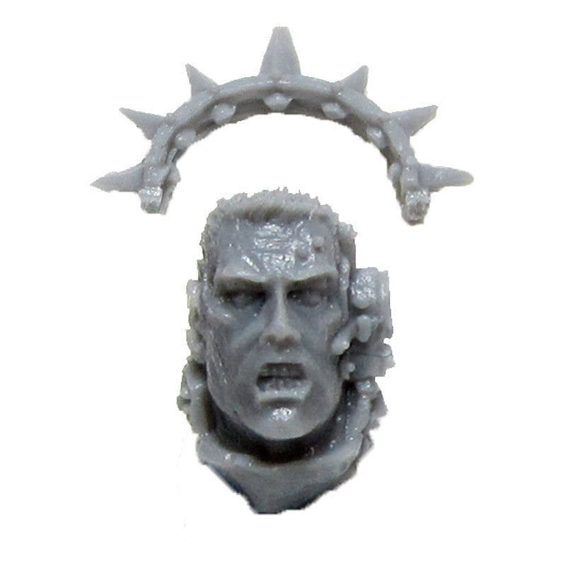 Warhammer 40k Forgeworld Space Marine Astral Claws Lugft Huron Head Iron Halo