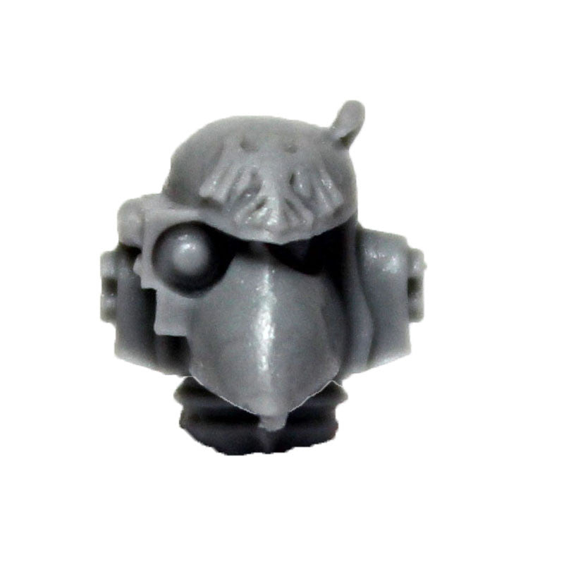 Warhammer 40k Forgeworld Space Marine Raven Guard Mor Deythan Head Helmet C