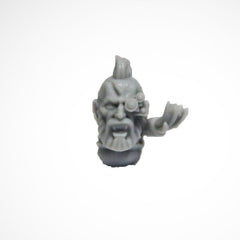 Warhammer 40K Marines Forgeworld Space Wolves Grey Slayers Upgrade Head Bare C