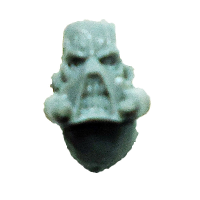 Warhammer 40K  Chaos Marines World Eaters Terminator Head D Bits