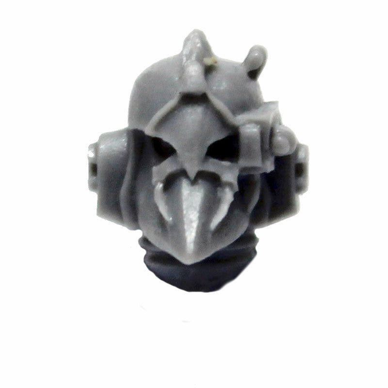 Warhammer 40K Forgeworld Space Marines Alpha Legion Head Hunter Head Helmet E
