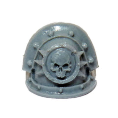 Warhammer 40k Forgeworld Chaos Space Marines Death Guard MKIII Shoulder Pad