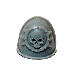 Warhammer 40k Forgeworld Chaos Space Marines Death Guard MKIV Shoulder Pad