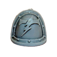 Warhammer 40K Forgeworld Space Marines White Scars MKII Shoulder Pad