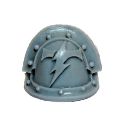 Warhammer 40K Forgeworld Space Marines White Scars MKIII Shoulder Pad