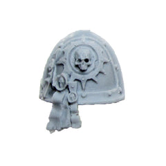 Warhammer 40K Forgeworld Space Marine Red Scorpions Honour Guard Shoulder Pad A