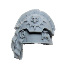 Warhammer 40K Forgeworld Space Marine Red Scorpions Honour Guard Shoulder Pad B