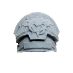 Warhammer 40K Forgeworld Space Marine Red Scorpions Honour Guard Shoulder Pad C