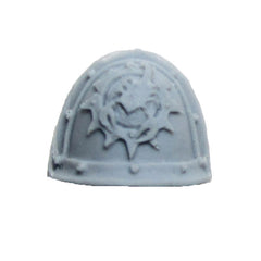 Warhammer 40K Forgeworld Space Marine Red Scorpions Honour Guard Shoulder Pad D