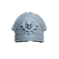 Warhammer 40K Forgeworld Space Marine Red Scorpions Honour Guard Shoulder Pad E