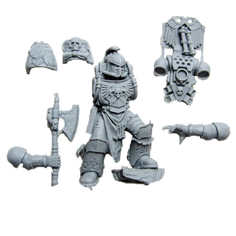 Warhammer 40K Forgeworld Space Marine Red Scorpions Severin Loth Librarian Bits