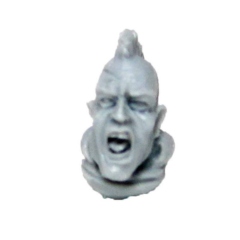 Warhammer 40K Forgeworld Sons of Horus Reaver Attack Squad Bare Head Bits