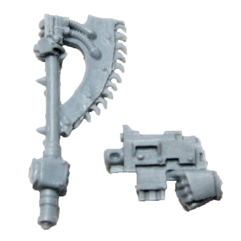 Warhammer 40K Forgeworld Sons of Horus Reaver Attack Squad Chain Axe Right Bits