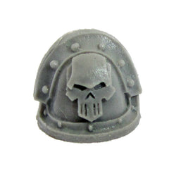 Warhammer 40K Chaos Space Marine Iron Warriors MKIII Shoulder Pad Bits