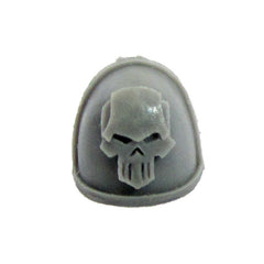 Warhammer 40K Chaos Space Marine Iron Warriors MKIV Shoulder Pad Bits