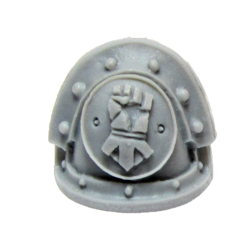Warhammer 40K Forgeworld Marines Imperial Fists MKIII Shoulder Pad