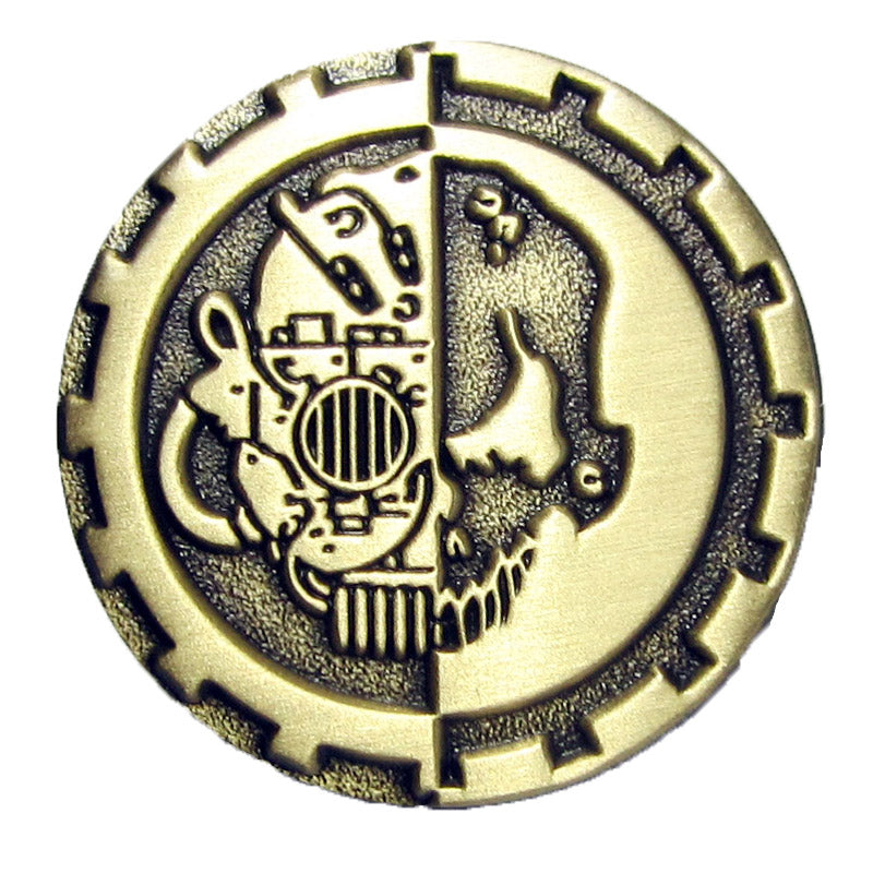 Warhammer 40k Horus Heresy Space Marines Mechanicum Forgeworld Pin Badge