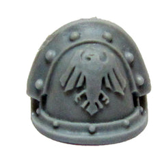 Warhammer 40k Forgeworld Space Marine Raven Guard Shoulder Pad MKIII